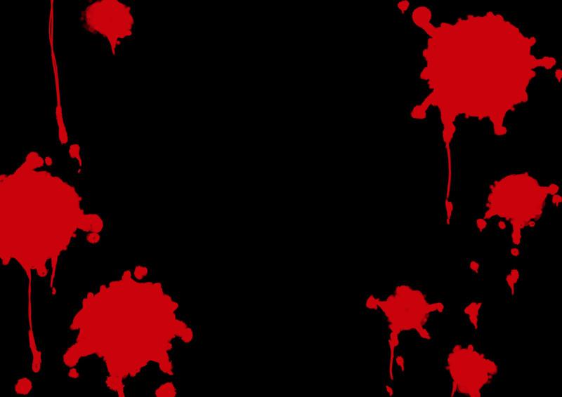 背景素材「血しぶき2(透過)」