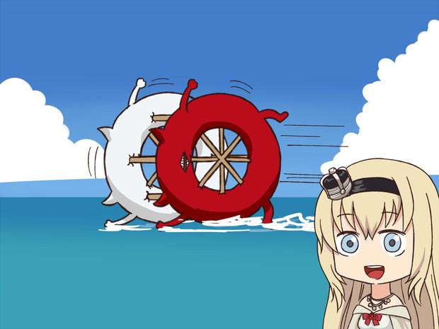 深海浮き輪のパンジャンドラム