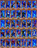 主役級仮面ライダーMMDモデル一覧みたいな(カードゲーム風)