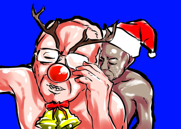 77歳の肛門モロ感の親爺BB(ChristmasBAAJON)トレスBB テカテカ増し