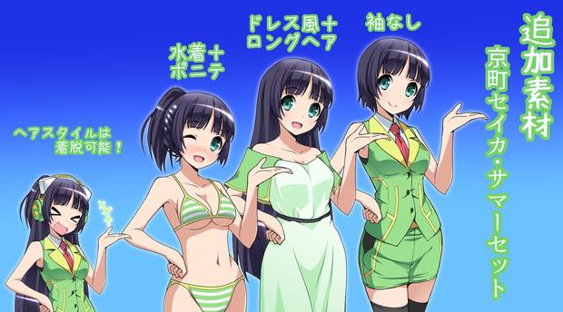 【VOICEROID】京町セイカ 追加素材:サマーセット!【たしかなまんぞく様】