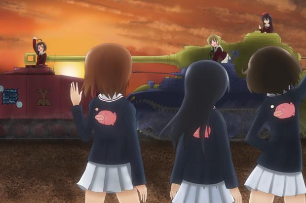 Girls und Panzer horizont