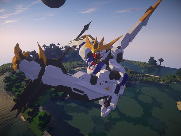 【Minecraft】 バルバトスっぽいもの その4 【JointBlock】