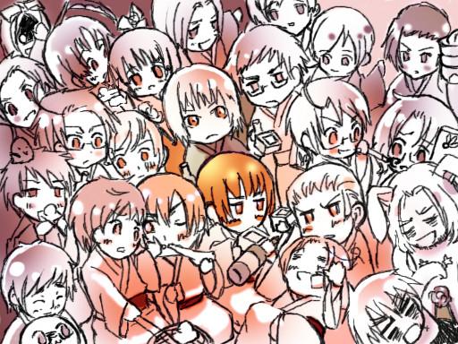(今年もヘタリア!)2011新年会(あけましたおめでとう!)