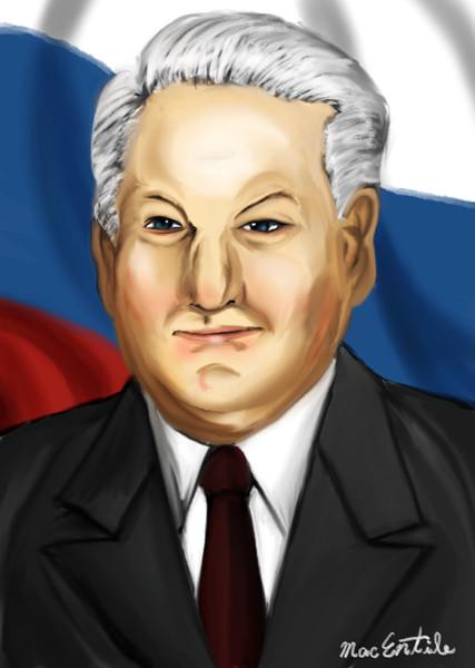 【再掲】ロシア連邦初代大統領 ボリス・エリツィン