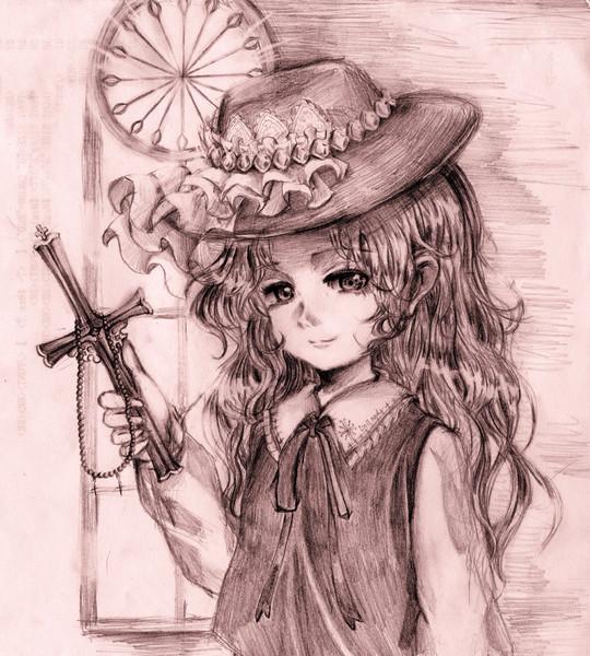 蓬莱人形ジャケットのお嬢