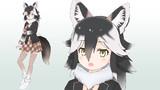 【MMDモデル配布】ユーコンオオカミ