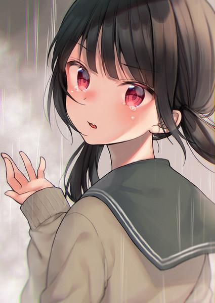 泣き顔おさげセーラーちゃん