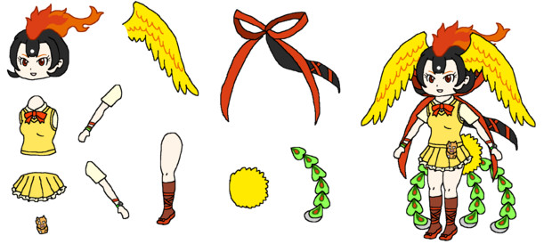 火の鳥PNG