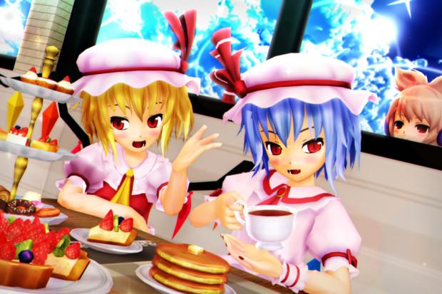【レミフラ!】姉妹と かわいいお茶会♡