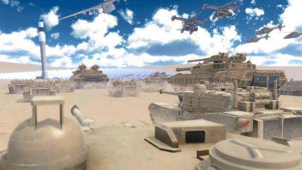 陸軍(戦車部隊)