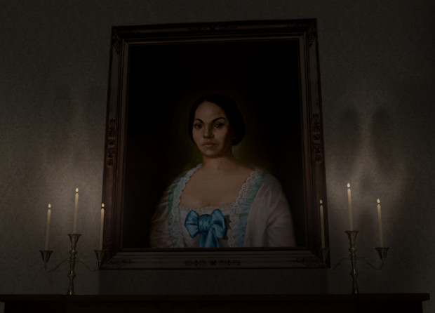 呪われた肖像画・・・