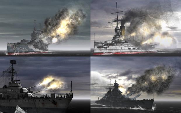 MME用モブ砲演出エフェクトセット