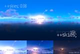 [HDR形式あり] ++skies; 038 [16k8k/8k4kスカイドーム素材配布]