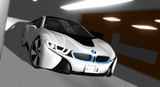 【MMD】BMW i8 配布開始です。