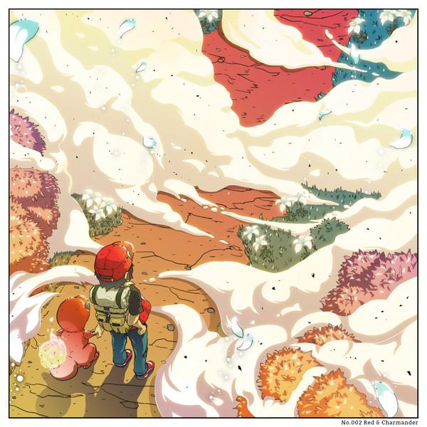 僕の中のポケモン No.002 - レッド&ヒトカゲ
