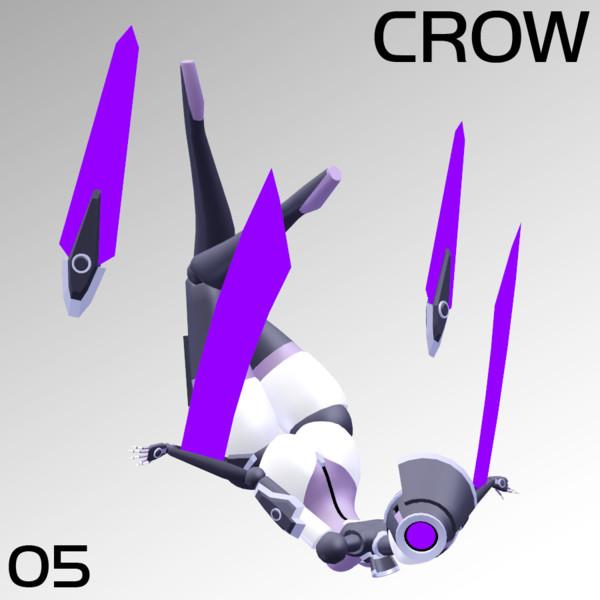 Framedoll 05 Crow