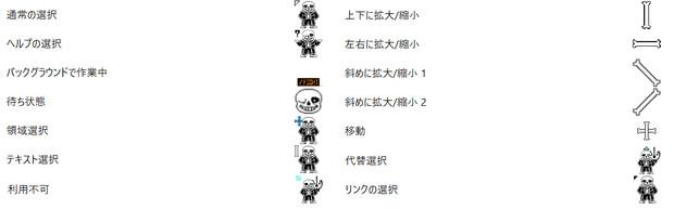 【Undertale】Sans(サンズ)のマウスカーソル