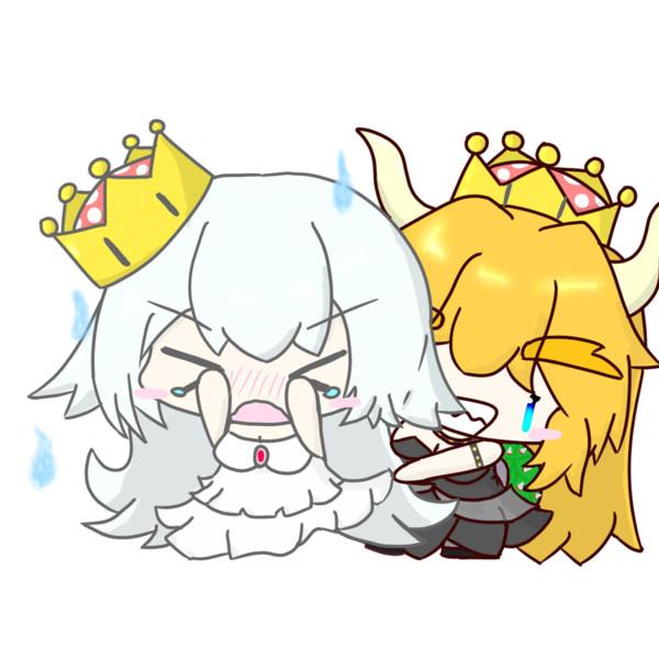 クッパ姫とキングテレサ姫
