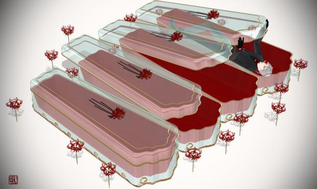 曼珠沙華とガラスの棺