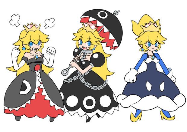 キラー姫・ワンワン姫・ボムキング姫