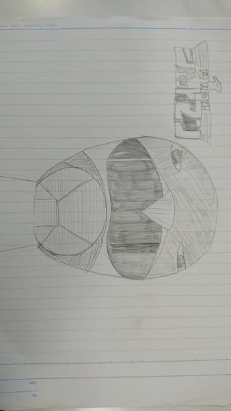 恐ろしく暇だったのでアナログでレッドホークを描いた