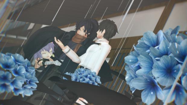 【Fate/MMD】 雨宿り