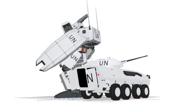 コザック(国連軍仕様)
