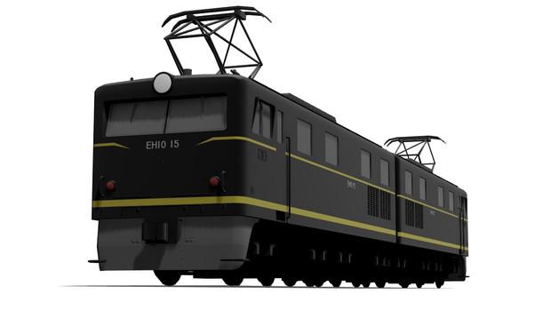 【MMD】国鉄EH10形電気機関車15号機【配布】