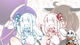 ウナキリ百合シーンを前に突然のテッテッテレッテーする琴葉姉妹が!!
