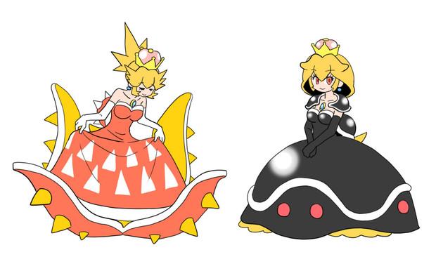 トゲゾー姫・メット姫