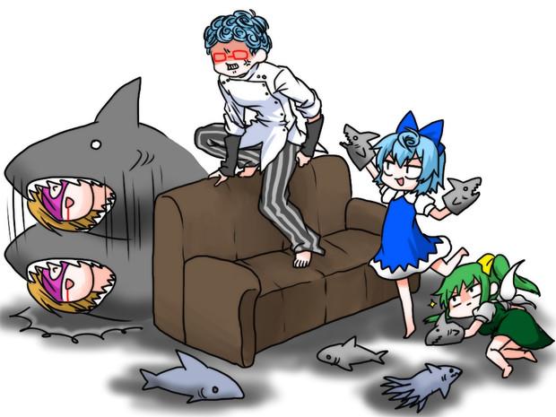 ヴェネツィアにサメはいない。いいね?