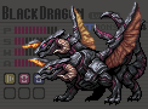 【RT Monsters】BlackDragon Lv.24