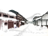 雪国と化した幻想郷