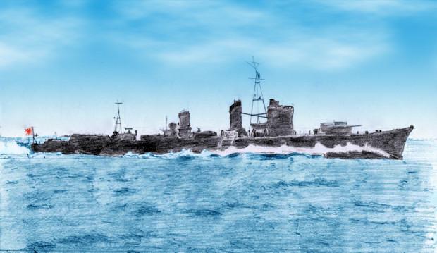驅逐艦「山風」