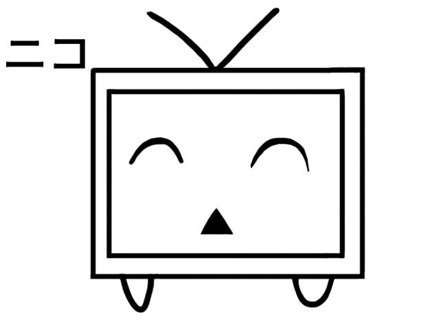 ニコニコテレビちゃん 笑顔