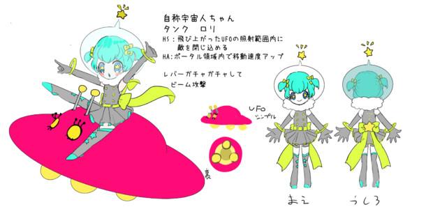 宇宙人タンクちゃん ゲスト さんのイラスト ニコニコ静画 イラスト