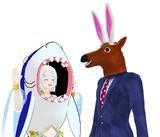 2人で因幡の白兎ごっこ 1