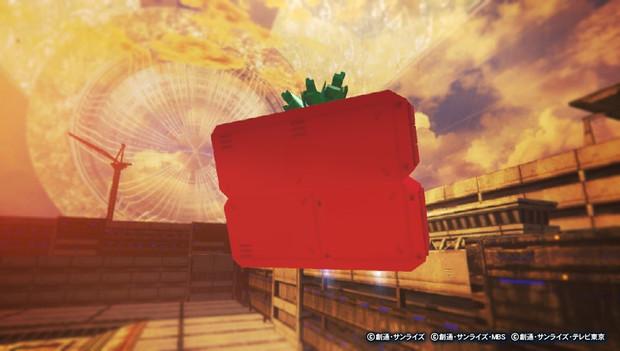 【支援絵】SCP-504、批判的なトマト、ギャグを言うならぶっ飛ばす!