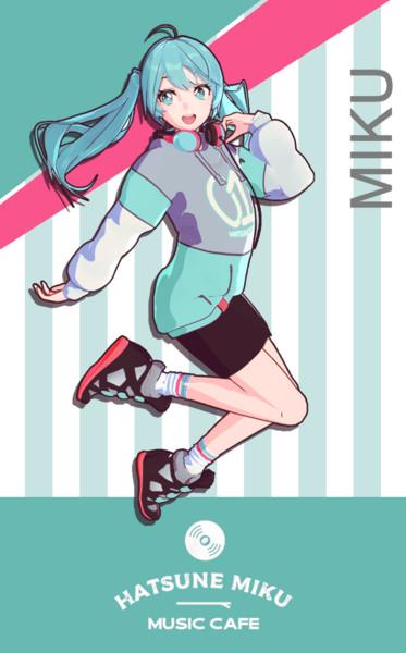 【MMDモデル配布】YYB式初音ミク CAFE MIKU