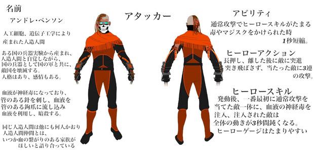 コンパスヒーローデザイン