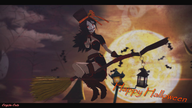 MMD - This is halloween!!