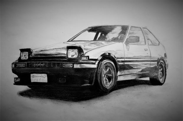 AE86描いてみた