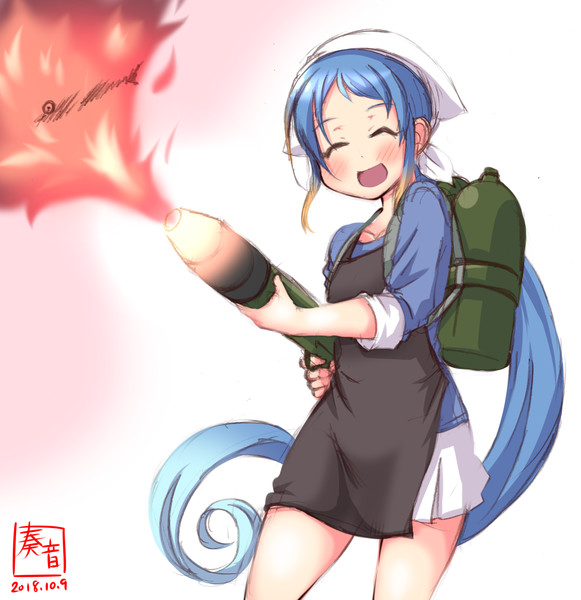 わんどろ秋刀魚祭りさみちゃん