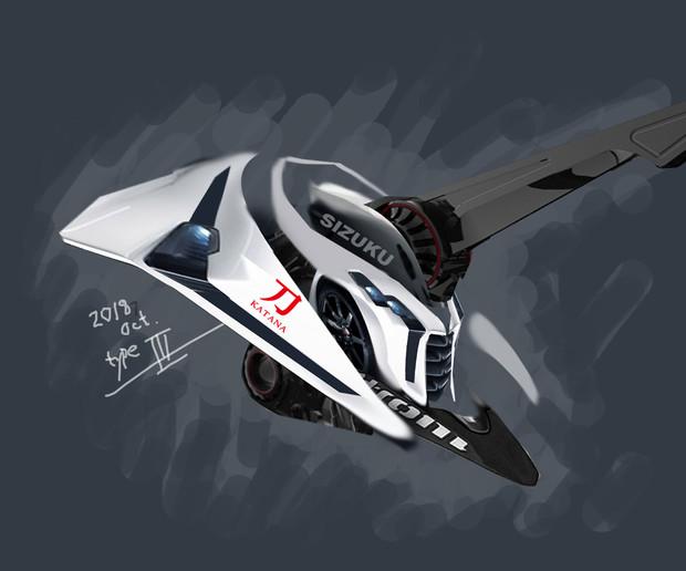 #エグゾスケルトン S3型 KATANA