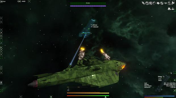 ガミラス帝国 クリピテラ級駆逐艦