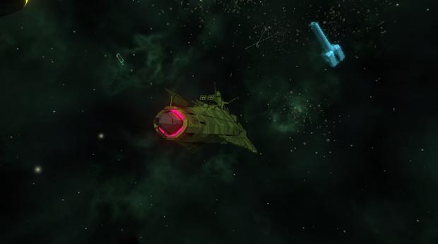 ガミラス帝国 クリピテラ級駆逐艦 のお尻