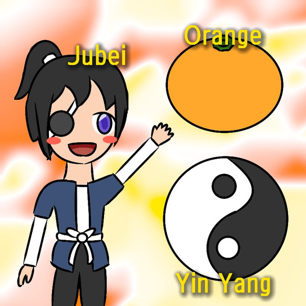 JOY (Jubei, Orange, Yin-yang)