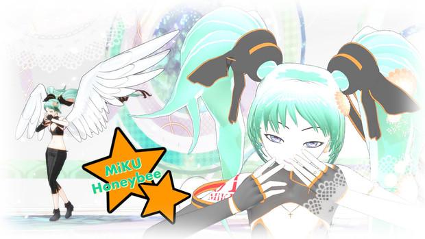 【MMD第二回STONE祭】MiKU★Honeybee