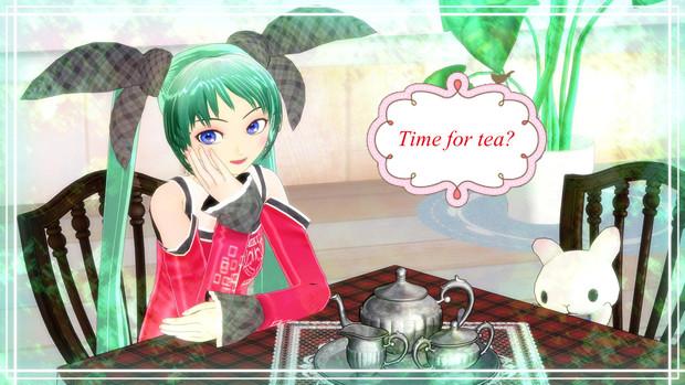 【MMD第二回STONE祭】お茶の時間だよ。